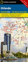 Buy map Orlando, Florida DestinationMap by National Geographic Maps from Florida Maps Store