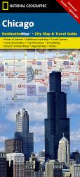 Buy map Chicago, Illinois DestinationMap by National Geographic Maps in Illinois Map Store