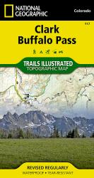 Buy map Clark and Buffalo Pass, Colorado, Map 117 by National Geographic Maps from Colorado Maps Store
