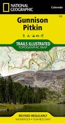 Buy map Gunnison and Pitkin, Colorado, Map 132 by National Geographic Maps from Colorado Maps Store