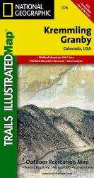 Buy map Kremmling and Granby, Colorado, Map 106 by National Geographic Maps from Colorado Maps Store