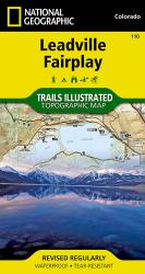 Buy map Leadville and Fairplay, Colorado, Map 110 by National Geographic Maps from Colorado Maps Store