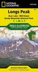 Buy map Longs Peak, Bear Lake, Rocky Mtns, Map 301 by National Geographic Maps from Colorado Maps Store