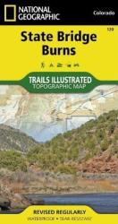 Buy map State Bridge and Burns, Colorado, Map 120 by National Geographic Maps from Colorado Maps Store