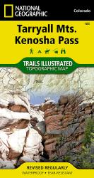 Buy map Tarryall Mountains and Kenosha Pass, Map 105 by National Geographic Maps from Colorado Maps Store