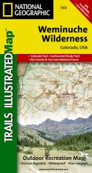Buy map Weminuche Wilderness, Map 140 by National Geographic Maps from Colorado Maps Store