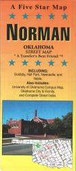 Buy map Norman, Oklahoma by Five Star Maps, Inc.
