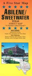 Buy map Abilene and Sweetwater, Texas by Five Star Maps, Inc. from Texas Maps Store
