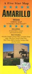 Buy map Amarillo, Texas by Five Star Maps, Inc. from Texas Maps Store