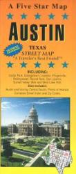Buy map Austin, Texas by Five Star Maps, Inc. from Texas Maps Store
