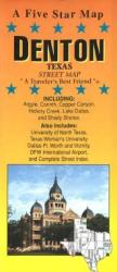 Buy map Denton, Texas by Five Star Maps, Inc. from Texas Maps Store