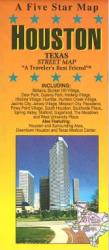 Buy map Houston, Texas by Five Star Maps, Inc. from Texas Maps Store
