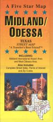 Buy map Midland and Odessa, Texas by Five Star Maps, Inc. from Texas Maps Store