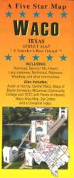 Buy map Waco, Texas by Five Star Maps, Inc. from Texas Maps Store