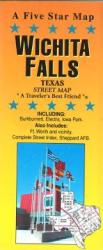 Buy map Wichita Falls, Texas by Five Star Maps, Inc. from Texas Maps Store