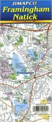 Buy map Framingham/Natick, Massachusetts, Quickmap by Jimapco from Massachusetts Maps Store