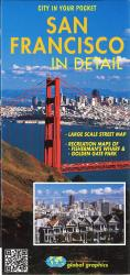 Buy map San Francisco, California, In Detail by Global Graphics from California Maps Store