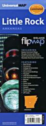 Buy map Little Rock, Arkansas, Flipmap by Kappa Map Group from Arkansas Maps Store