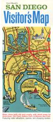 Buy map San Diego, California, Visitors Map by Carol Mendel from California Maps Store
