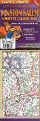 Buy map Winston-Salem, North Carolina Laminated Tuffy Map by Tuffy Maps from North Carolina Maps Store