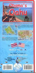 Buy map Obamas Oahu Guide Map by Frankos Maps Ltd. from Hawaii Maps Store