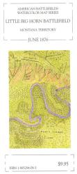 Buy map Little Big Horn Battlefield, Montana, 1876 by McElfresh Map Co. from Montana Maps Store