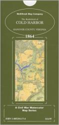 Buy map Cold Harbor Battlefield, Virginia, 1864 by McElfresh Map Co. from Virginia Maps Store