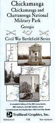 Buy map Chickamauga Battlefield by Trailhead Graphics, Inc.