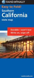 Buy map California, South, Easy to Fold by Rand McNally