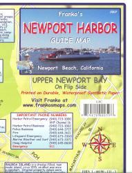 Buy map California Map, Newport Harbor/Upper Newport Bay Guide 2007 by Frankos Maps Ltd.