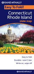 Buy map Connecticut and Rhode Island, Easy to Fold by Rand McNally from United States Maps Store