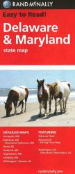 Buy map Delaware and Maryland by Rand McNally from United States Maps Store