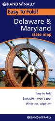 Buy map Delaware and Maryland, Easy to Fold by Rand McNally from United States Maps Store