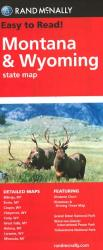 Buy map Montana and Wyoming by Rand McNally from United States Maps Store
