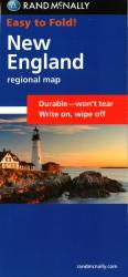 Buy map New England, Easy to Fold by Rand McNally from United States Maps Store