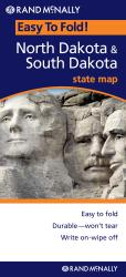 Buy map North and South Dakota, Easy to Fold by Rand McNally from United States Maps Store