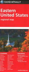 Buy map United States, Eastern Regional by Rand McNally from United States Maps Store