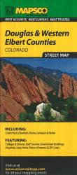 Buy map Douglas and Western Elbert, Colorado by Kappa Map Group from Colorado Maps Store