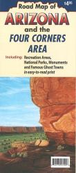 Buy map Arizona and the Four Corners area by North Star Mapping from Arizona Maps Store