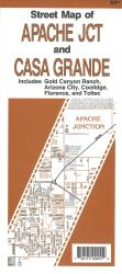 Buy map Apache Junction and Casa Grande, Arizona by North Star Mapping from Arizona Maps Store