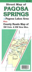 Buy map Pagosa Springs, Colorado and the Pagosa Lakes area by North Star Mapping from Colorado Maps Store