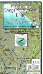 Buy map California Map, Orange County Dive, folded, 2005 by Frankos Maps Ltd.