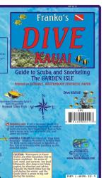 Buy map Hawaii Map, Kauai Dive Map, folded, 2012 by Frankos Maps Ltd.