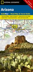 Buy map Arizona GuideMap by National Geographic Maps