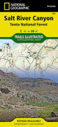 Buy map Salt River Canyon and Tonto National Forest, Map 853 by National Geographic Maps from Arizona Maps Store