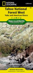 Buy map Tahoe National Forest, Yuba and American Rivers, Map 804 by National Geographic Maps from California Maps Store