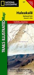 Buy map Haleakala National Park, Map 227 by National Geographic Maps from Hawaii Maps Store