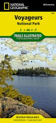 Buy map Voyageurs National Park by National Geographic Maps from Minnesota Maps Store
