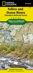 Buy map Tellico and Ocoee Rivers, Map 781 by National Geographic Maps from Tennessee Maps Store