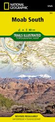Buy map Moab, South, Map 501 by National Geographic Maps from Utah Maps Store